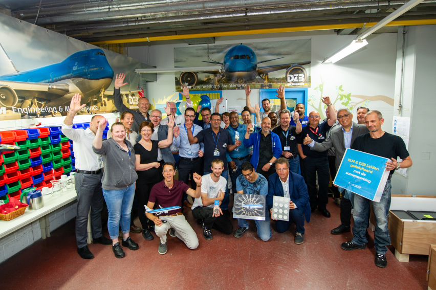 DZB Leiden en KLM Engineering & Maintenance starten samenwerking